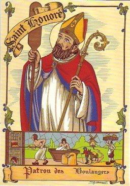 Saint-Honoré, patron des boulangers et des pâtissiers St20ho10