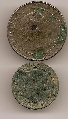 5 Céntimos del Gobierno Provisional (Barcelona, 1870) Escan126