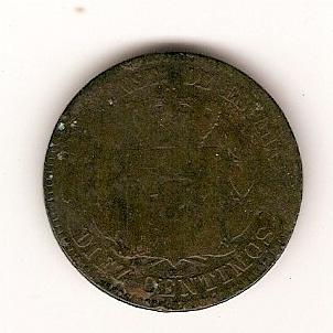 5 Céntimos del Gobierno Provisional (Barcelona, 1870) Escan129