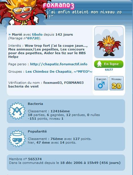 Foxman03 a atteint le niveau 20 ! Fox_an10