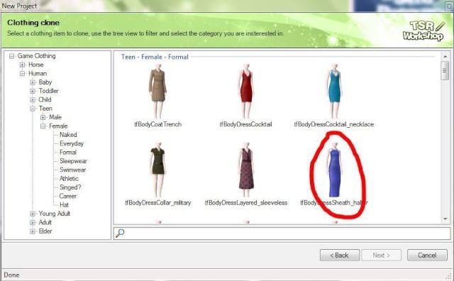 [Débutant] Créez vos vêtements - Partie I - Créer un nouveau projet de vêtement sous TSRW 85086210