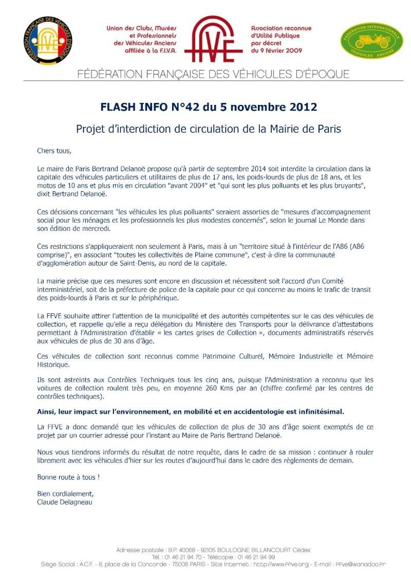 Flash Infos N°42 : Restriction circulation à Paris en septembre 2014 Flash_10