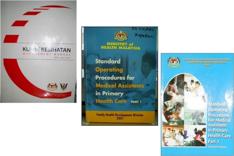 Adakah anda menggunakan Buku Pandual Manual KD management di Klinik Km10