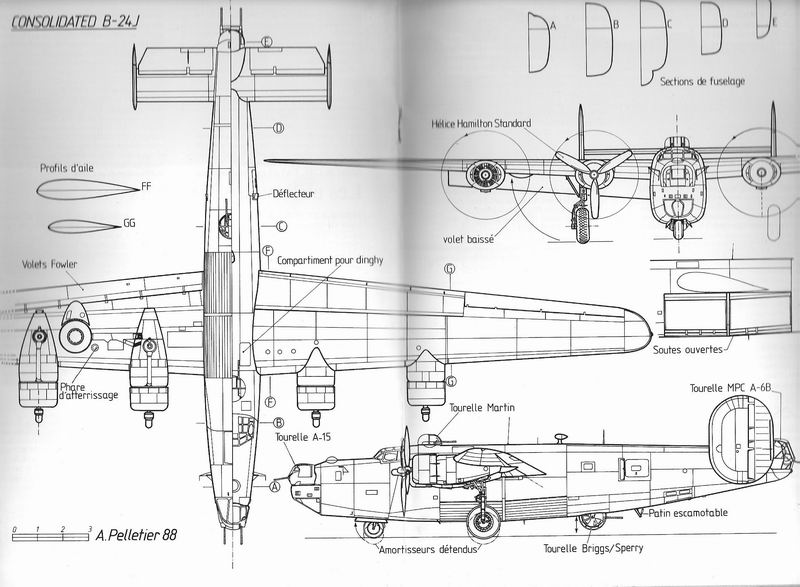 """Le Consolidated B-24 """"Liberator"""" B-24_s10"""