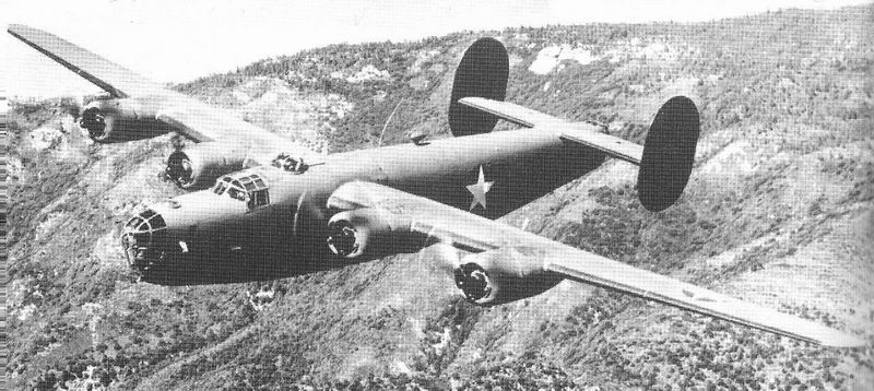 """Le Consolidated B-24 """"Liberator"""" B-24d-10"""