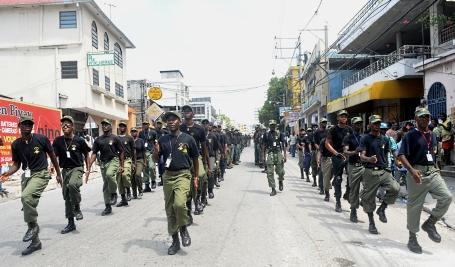 Voici la culture militaire des militaires haitiens 2011-010