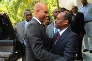 Aristide a reçu Martelly 9d862510