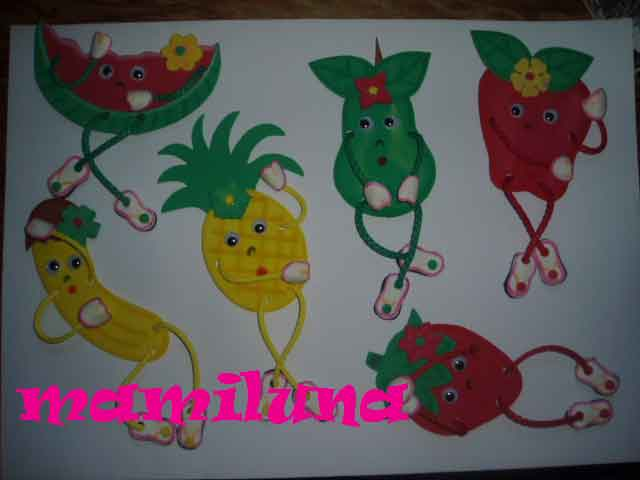FRUTAS EN FOAMI Frutas10