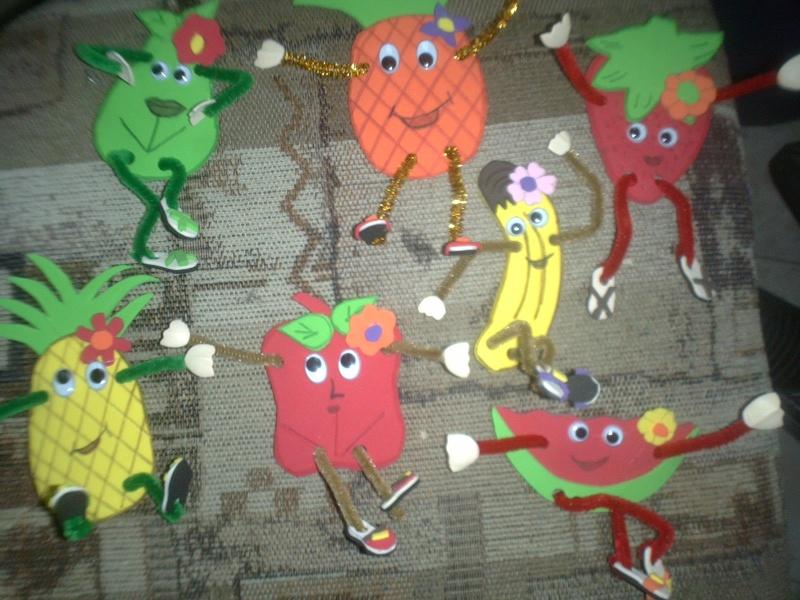 Frutas En Foami
