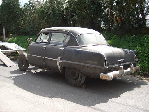Plymouth '54 La LIMACE ECRASEE by BARE METAL GARAGE 211