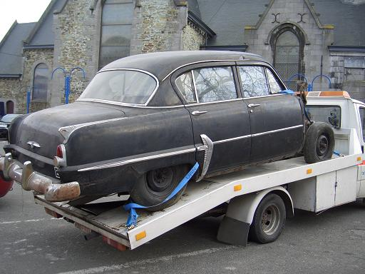 Plymouth '54 La LIMACE ECRASEE by BARE METAL GARAGE E11