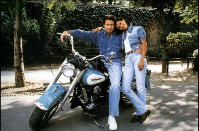 Ils ont posé avec une Harley, principalement les People - Page 2 Michel10