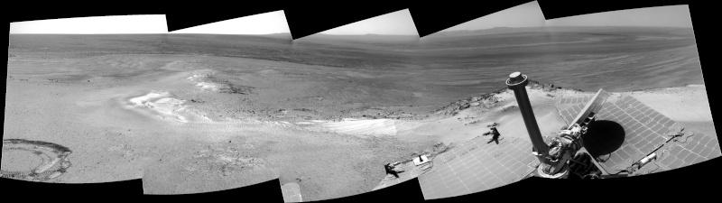 Opportunity et l'exploration du cratère Endeavour - Page 3 Sol28010