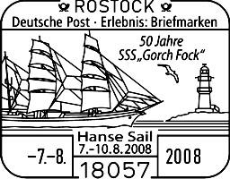 Hanse Sail Rostock, neues Sonderfeldpostamt Hanses11