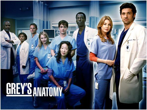 Canales de televisión que emiten la serie. Grey_s11