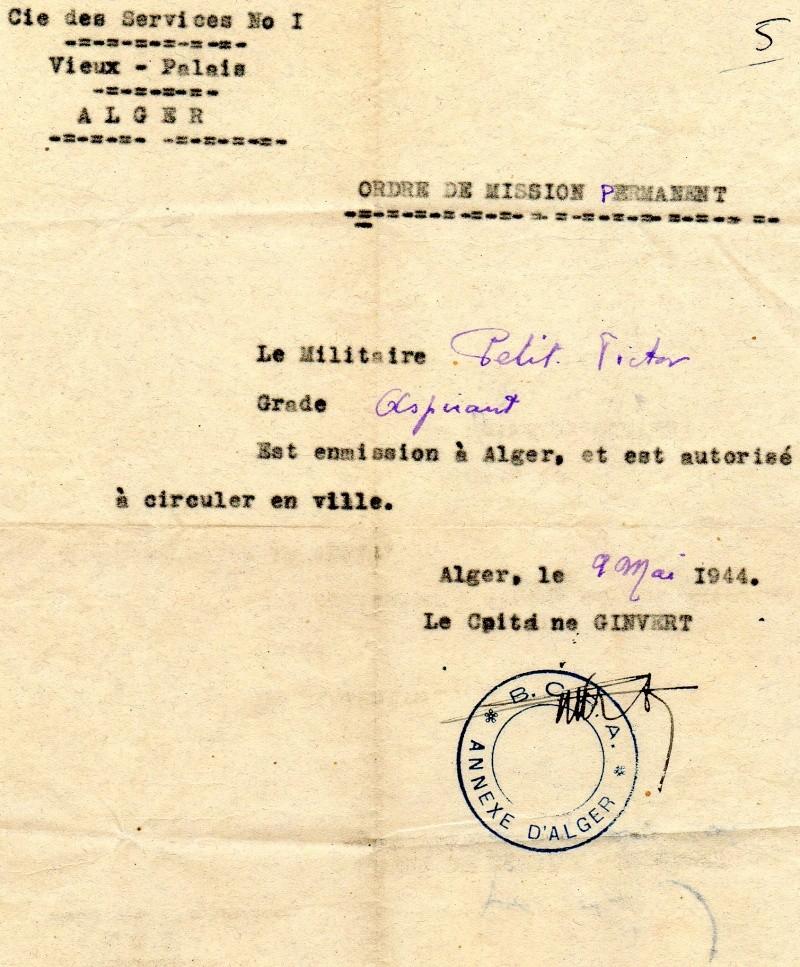 PETIT Victor - brevet n°893 à FEZ (Maroc) Représenté par son fils Denis Bcra10