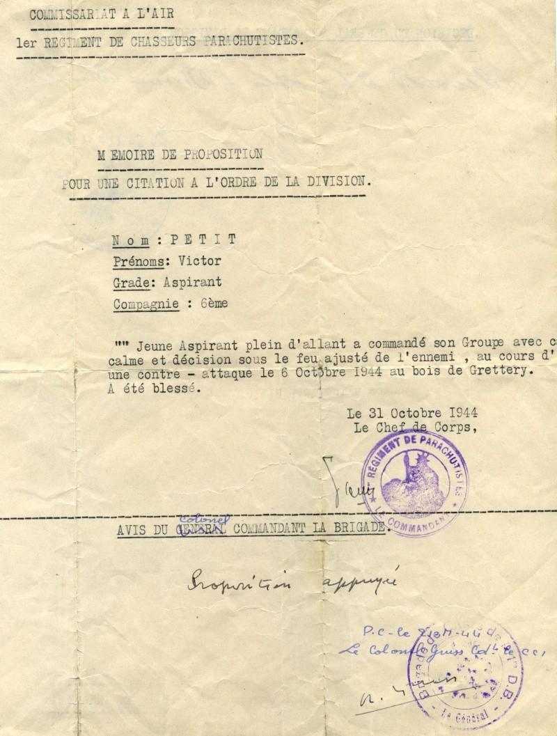 LA ROUGE pour le 1er RCP...la fourragère de la Légion d'Honneur remplacera celle des TOE le 12 juillet 2009 cour du Dôme des INVALIDES - Hip! hip! hip! Hourra - Page 2 Citati10