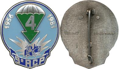 Cherche photo de l'insigne de la quatrième compagnie du 9 RCP Pc134210