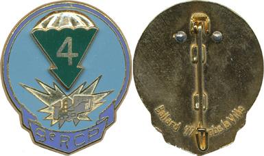 Cherche photo de l'insigne de la quatrième compagnie du 9 RCP Pc134212
