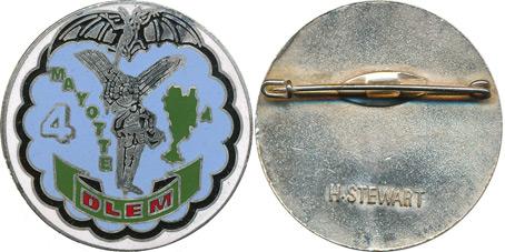 Cherche photo de l'insigne de la quatrième compagnie du 9 RCP Pc134213