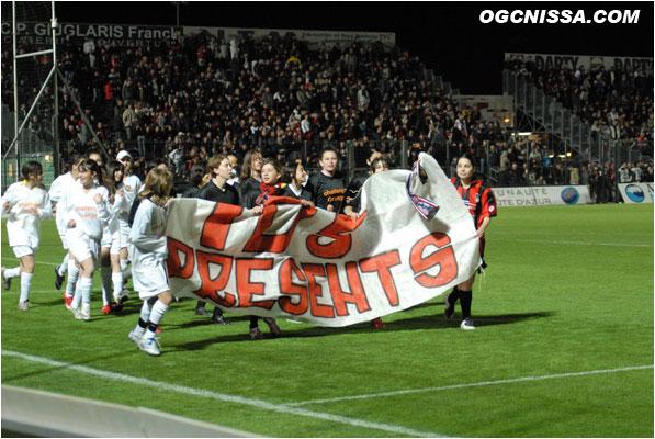 Ultras unis contre la Répréssion ! 1111