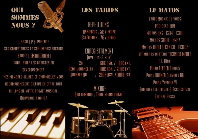 L' EMBARCADERE : Studio d'Enregistrement de la Ville d'Asnières-sur-Seine 7_bmp10