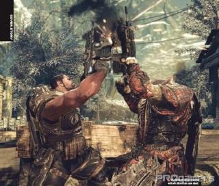 Сканы Gears of War 2 из нового номера EGM 1112