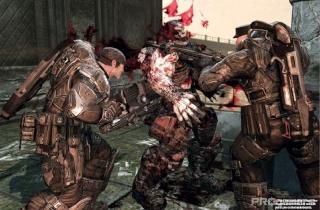Сканы Gears of War 2 из нового номера EGM 210