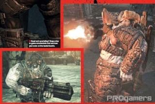 Сканы Gears of War 2 из нового номера EGM 310