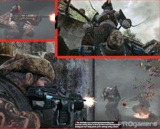 Сканы Gears of War 2 из нового номера EGM 410