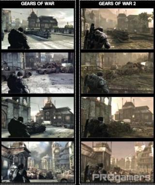 Сканы Gears of War 2 из нового номера EGM 510