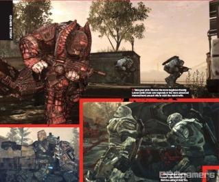 Сканы Gears of War 2 из нового номера EGM 610