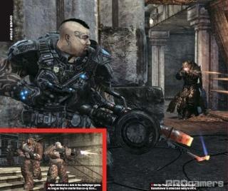 Сканы Gears of War 2 из нового номера EGM 910