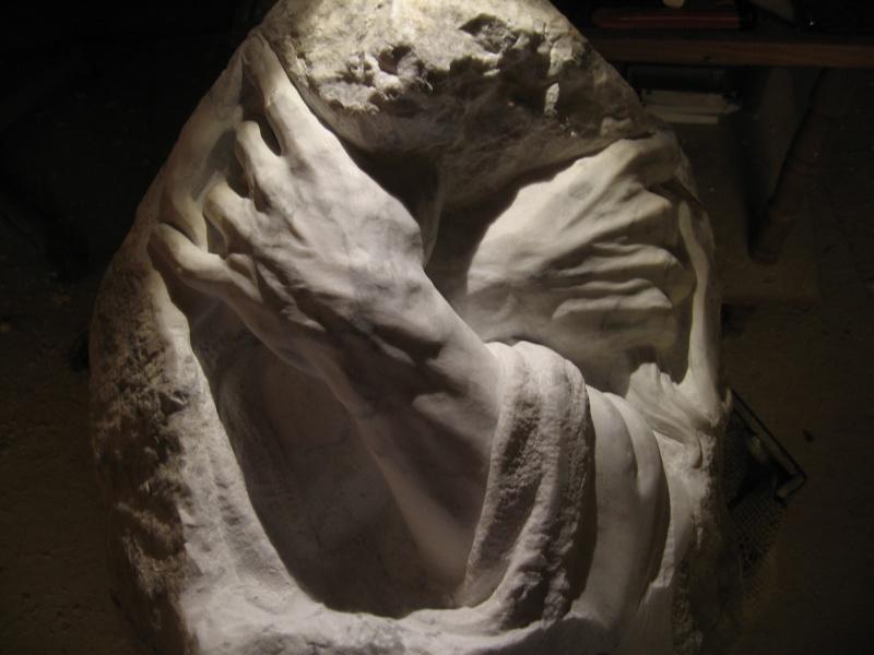 Mains en marbre de carrare A1010