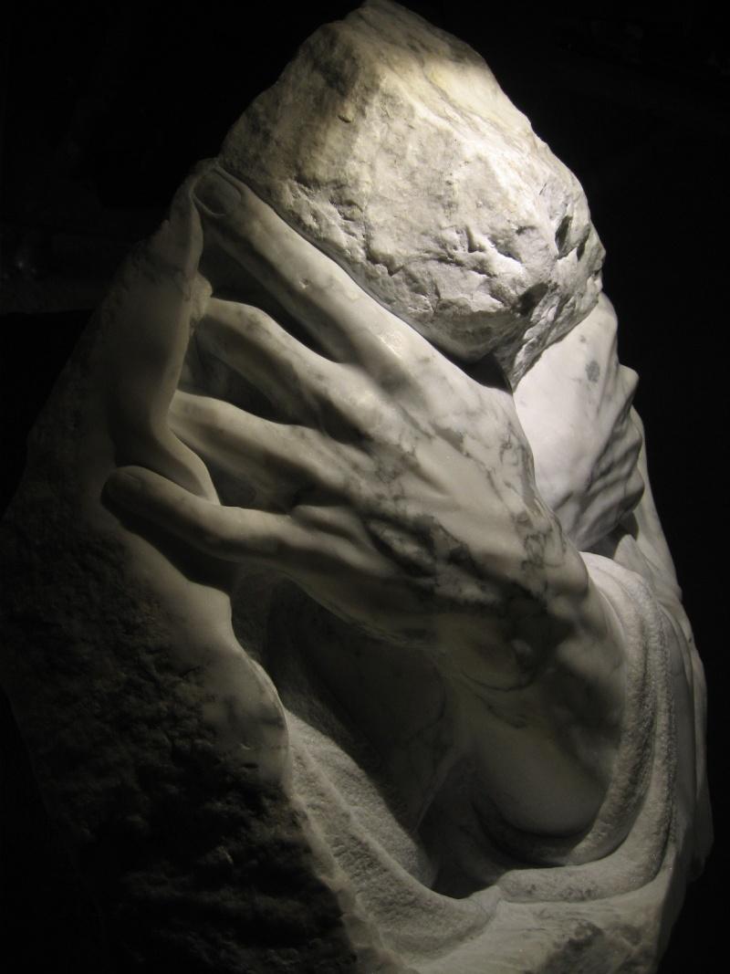 Mains en marbre de carrare A1210