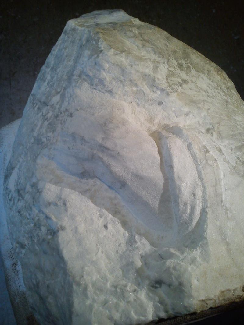 Mains en marbre de carrare A411
