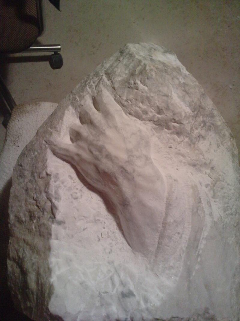 Mains en marbre de carrare A611