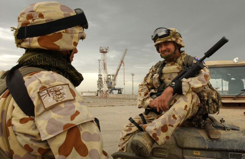 """Les dossiers photos de l'été, 1er juillet : """" the royal australian navy"""" 12uo110"""