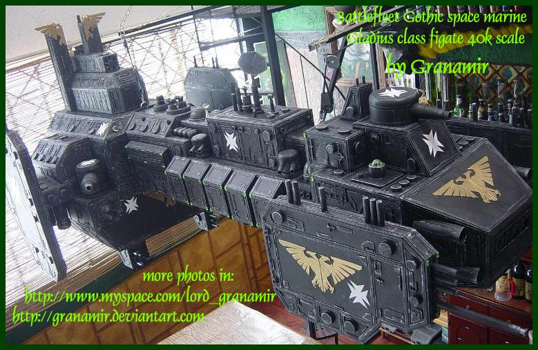 Battle Fleet Gothic Battle10
