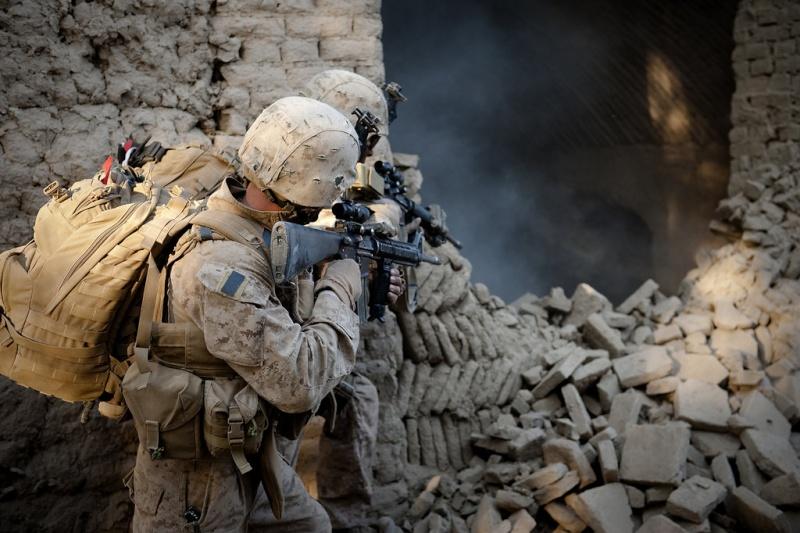 """Les dossiers photos de l'été, 9 juillet : """"Photos d'Afghanistan"""" Fight_11"""