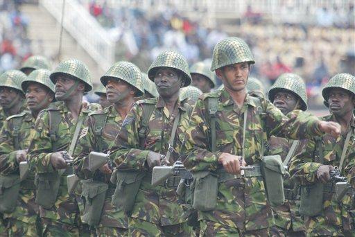 Camouflages du monde entier Kenyan10