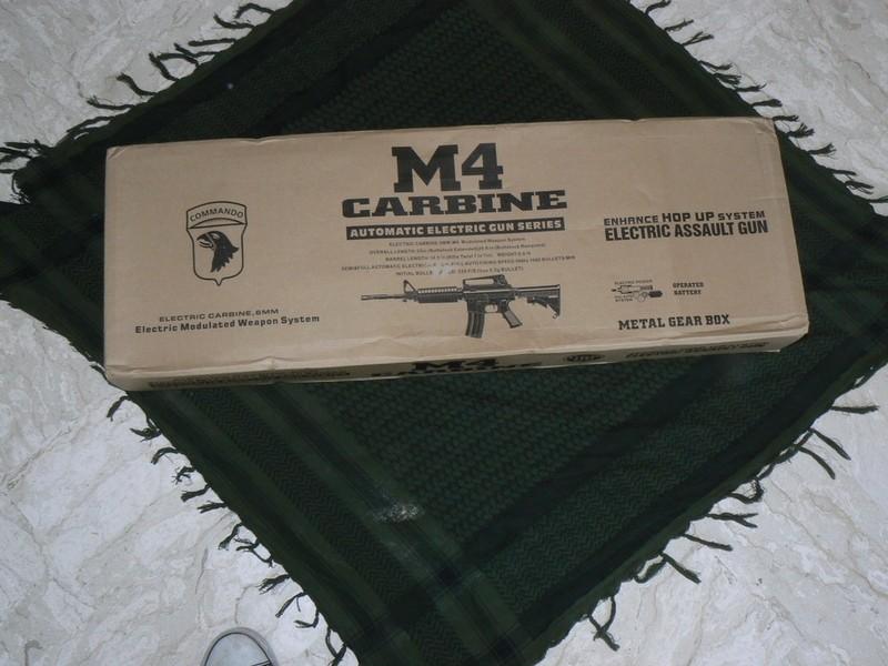REVIEW M4a1 JING GONG et précision sur ma red dot P1020211