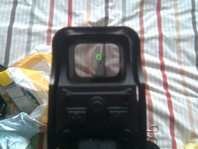 REVIEW M4a1 JING GONG et précision sur ma red dot Photo024
