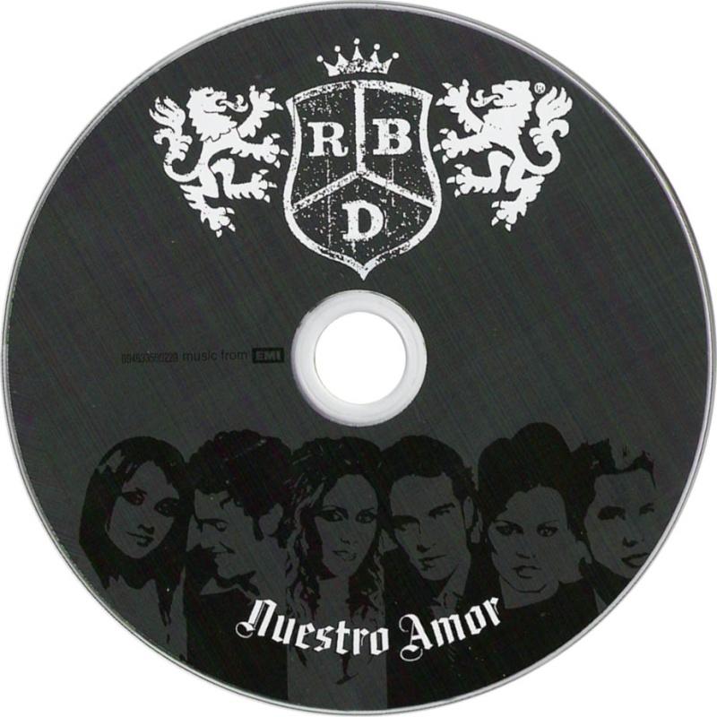 Slike sa omota albuma Rbd-nu10