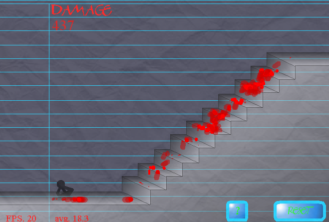 Stair Fall Damage11