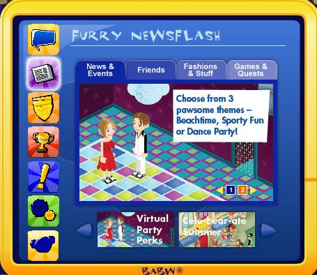 Visual Party room code Party_11