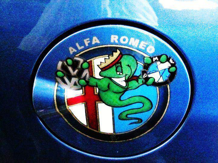 Photo sigle alfa romeo / Biscione  39849310