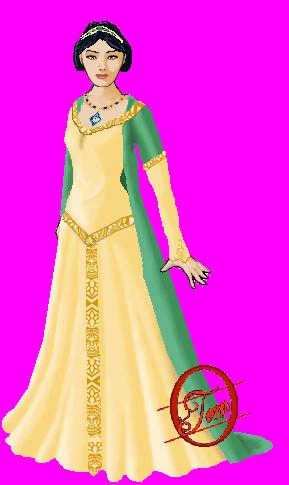 Anoblissement de Constance de Clèves Robe_c10