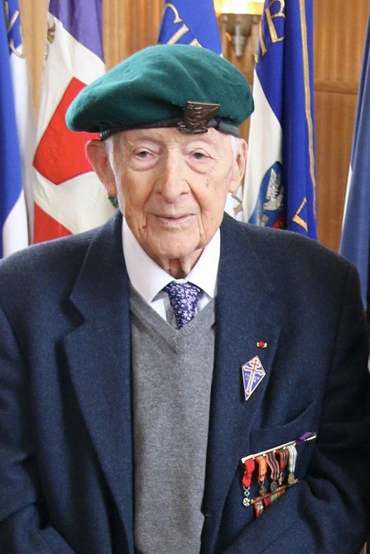 Décès de Hubert Faure, l'un des  deux derniers Français libres du commando Kieffer  17505210
