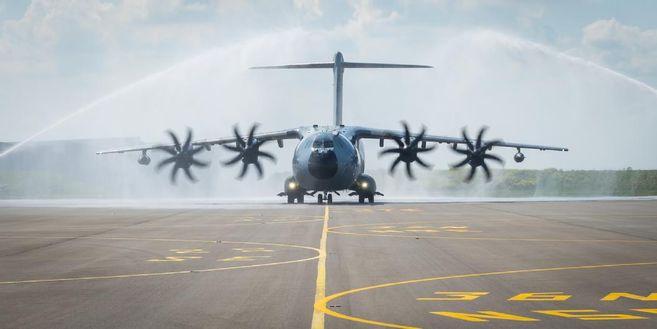 La DGA a réceptionné un 18e A400M Atlas, doté des dernières capacités tactiques validées 20000010